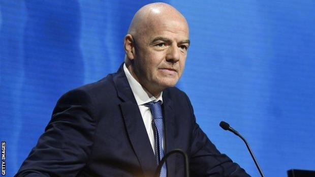 Fifa's Gianni Infantino
