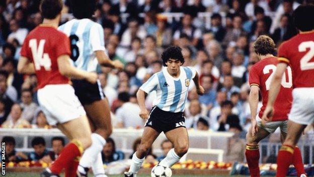 Diego Maradona #iHarare