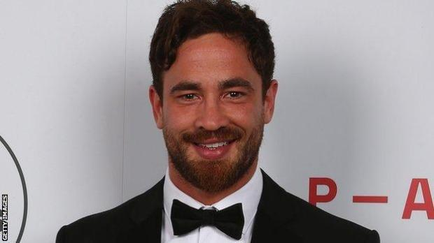 Danny Cipriani was voted player of the year by his fellow pros in 2019