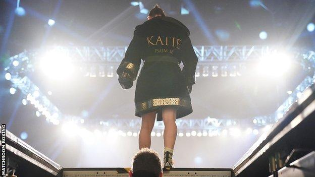 Katie Taylor ring walk