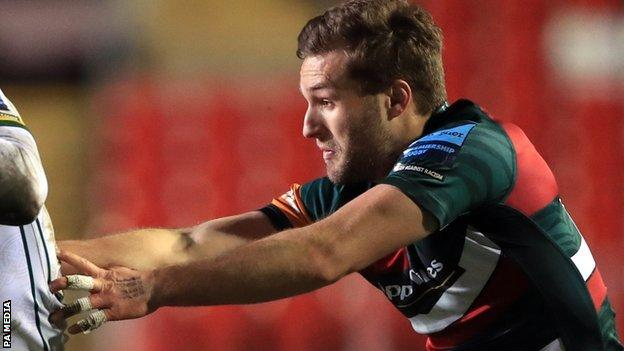 Johnny McPhillips has scored 58 points in 21 senior appearances for Leicester Tigers since signing from Ulster in June 2019