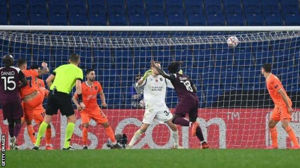 Moise Kean scores against Istanbul