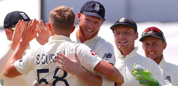 Sam Curran celebrates a wicket