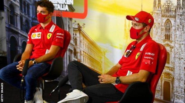 Sebastian Vettel speaking ahead of the Italian Grand Prix
