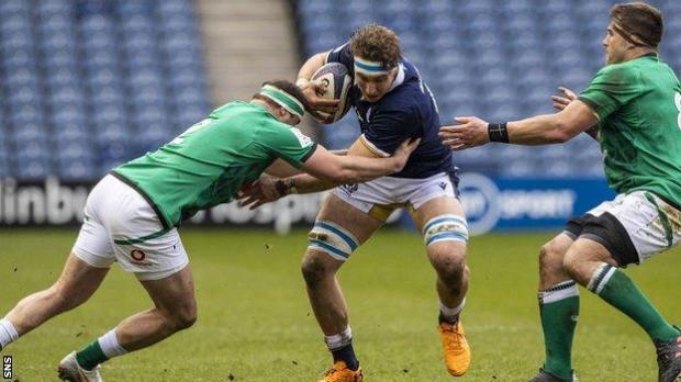 Edinburgh flanker Jamie Ritchie will captain Scotland in their three summer Tests