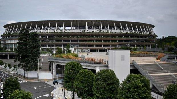 The Tokyo National Stadium