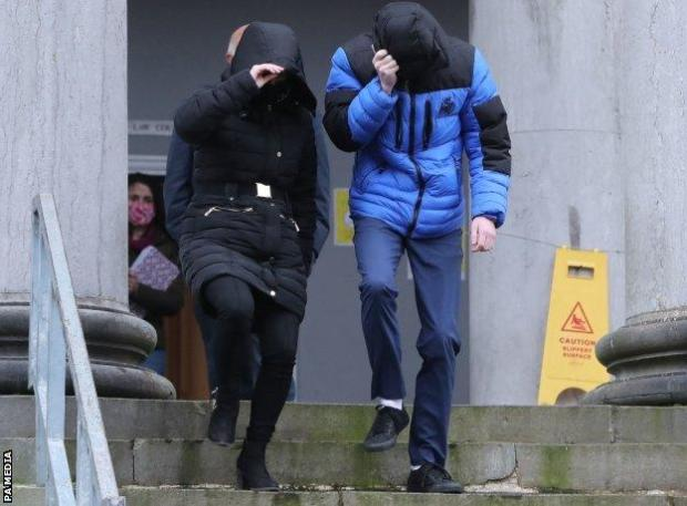 Patrick O'Brien leaves Tralee District Court after the hearing
