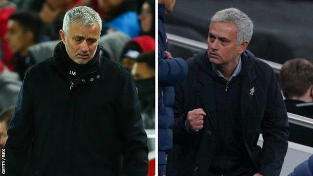 Jose Mourinho - in his final Manchester United game and now