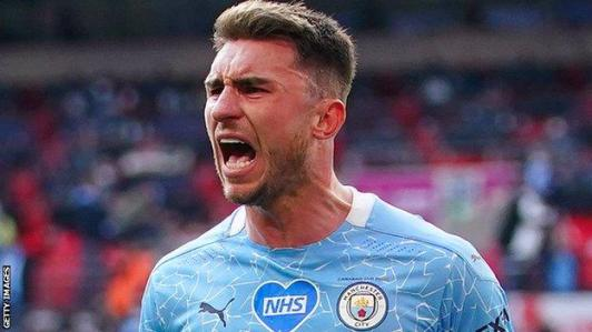 Manchester City defender Aymeric Laporte