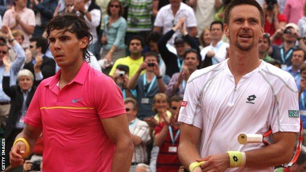 Nadal and Soderling