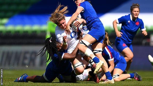 England win third straight Women's Six Nations