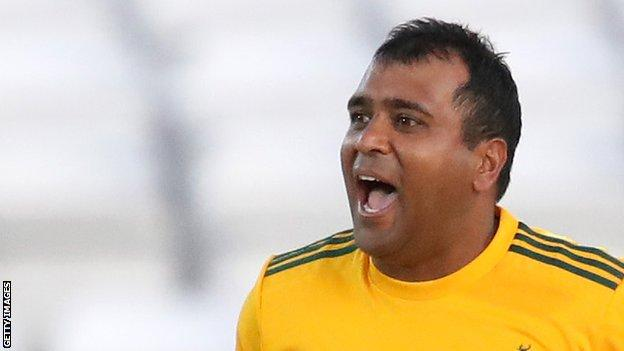 Samit Patel helped Notts Outlaws win the 2020 Vitaltiy Blast earlier this year