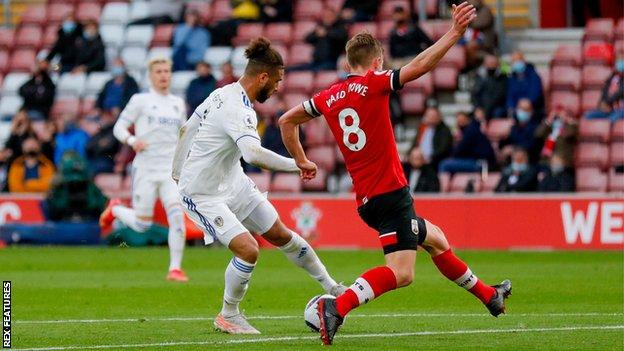 Tyler Roberts scored his first Premier League goal at the tail-end of last season at Southampton