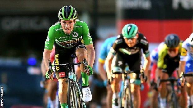 Primoz Roglic wins stage 10 of the 2020 Vuelta a Espana