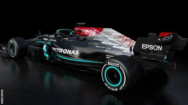 Mercedes new F1 car