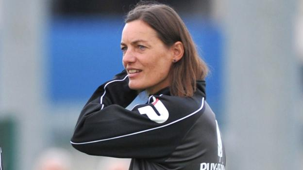 Clermont Foot Female coach Corinne Diacre set for first match  BBC Sport
