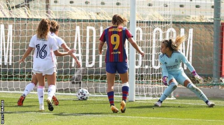 Women's El Clasico: Real Madrid thrashed 4-0 by Barcelona in first official game