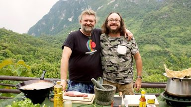 Hairy Bikers in Asia (picture from BBC) at Tolfalas.com