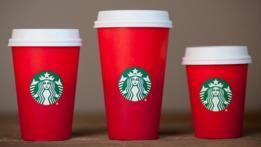Tazas navideñas Starbucks