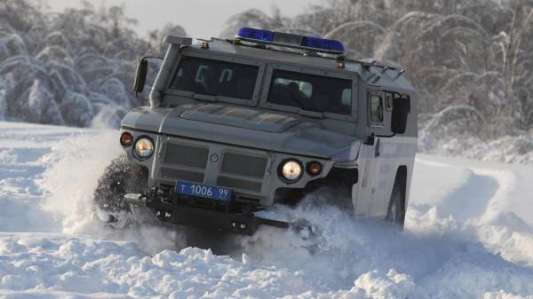 GAZ Tigr (Credit: Photo: GAZ Group)