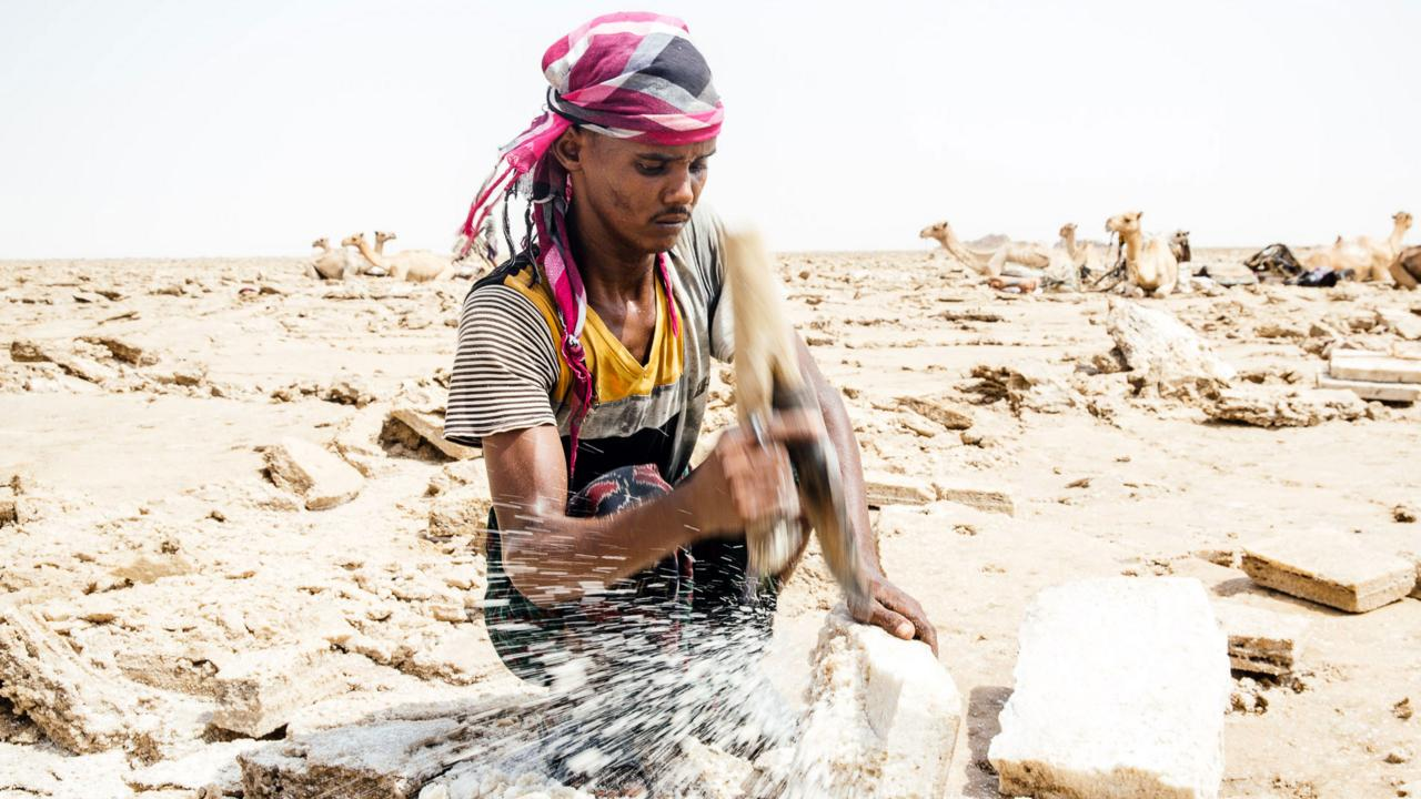Ethiopia's Danakil Depression (Credit: Tanveer Badal)