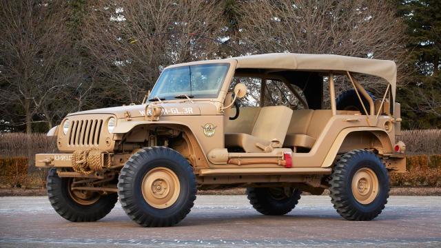 Jeep Staff Car Concept (Credit: Credit: Fiat Group)