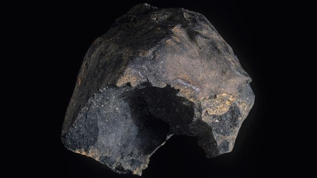 The Murchison meteorite (Credit: The Natural History Museum/Alamy Stock Photo)