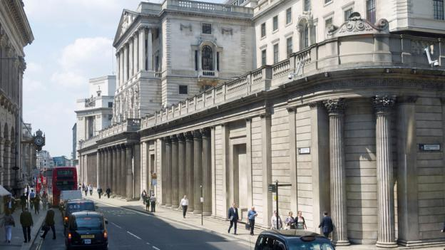 Beneath the Bank of England lie vaults that stash 5,134 tonnes of gold (Credit: Credit: Mike Booth/Alamy)