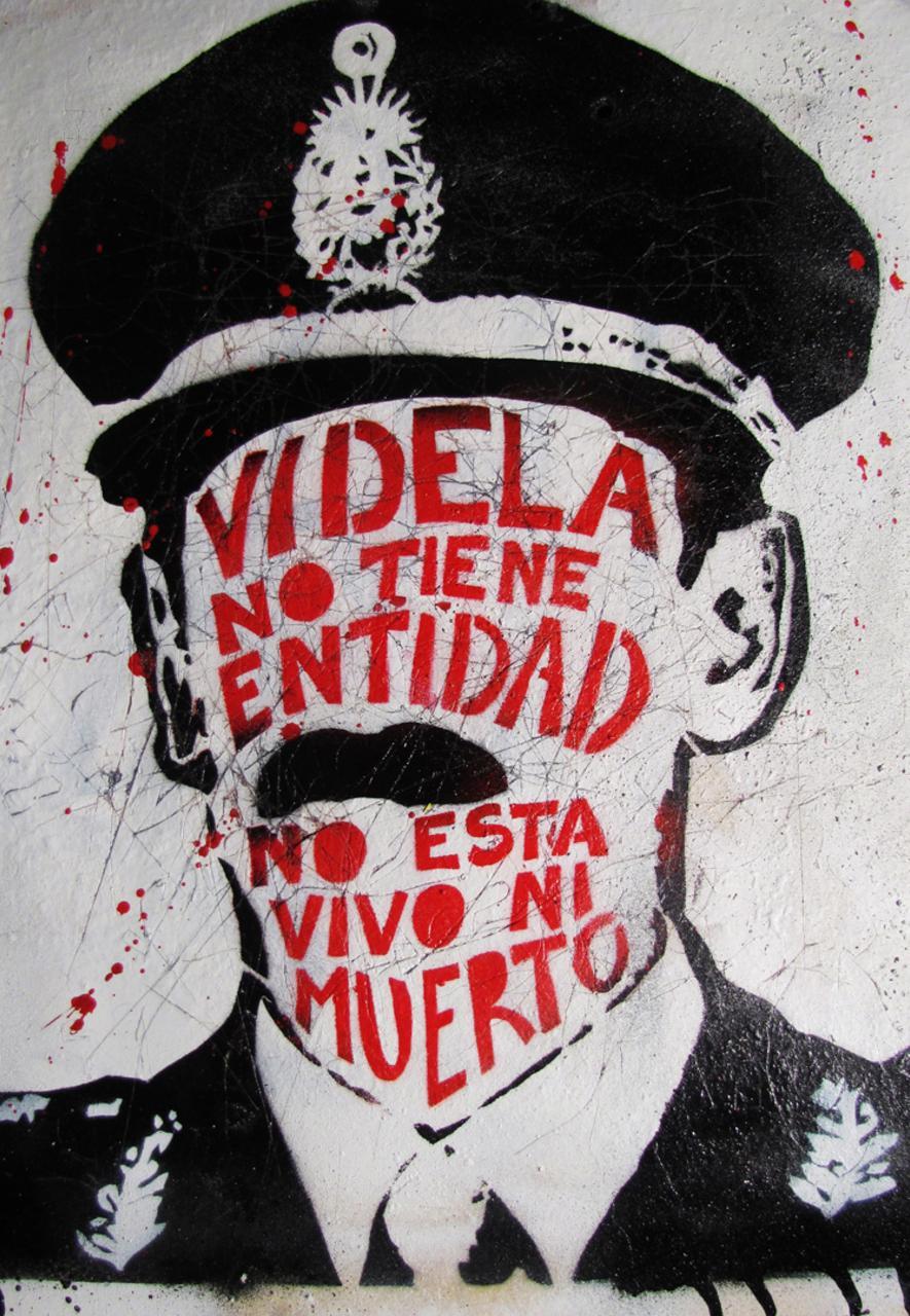 Buenos Aires street art Argentina (Credit: Nazza Stencil)