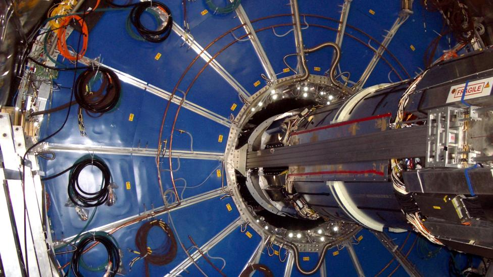 Part of the Large Hadron Collider (Credit: Stefan A. Gärtner)
