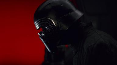 Adam Driver as Kylo Ren in Star Wars: The Last Jedi (Credit: Disney/Lucasfilm)