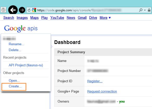Google Adsense Dashboard for WP