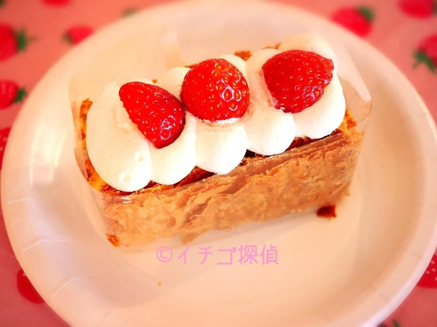 イチゴ探偵|ふくはる香の苺ミルクアップルパイに苺のババロア!苺のミルフイユも!ストフェスで苺を食べつくそう!