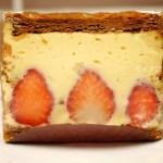 イチゴ探偵|パティスリーロートンヌの「苺のぷりん」と気まぐれシェフのケーキ「ミルフィーユ」