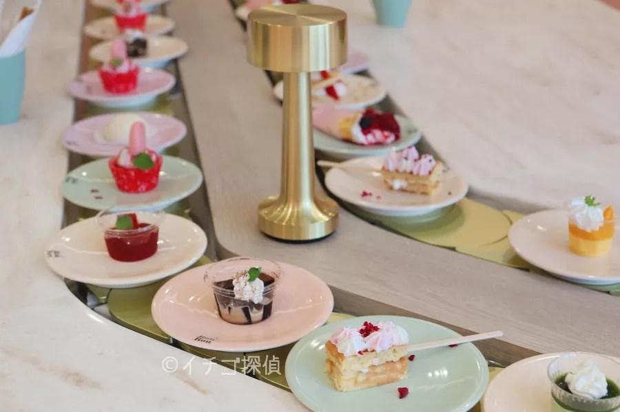 イチゴ探偵|【実食】回転スイーツ食べ放題!原宿「カフェロンロン」ネコのケーキがかわいすぎる!