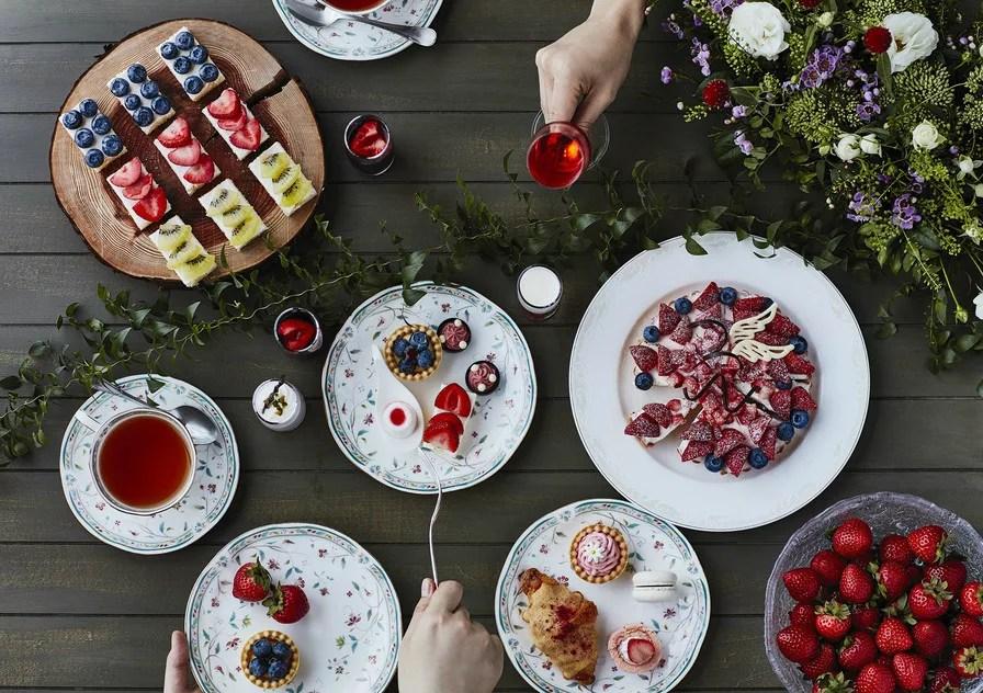 「苺&ランチブッフェ 森のストロベリーパーティー」ホテル椿山荘東京「ル・ジャルダン」初の苺のスイーツブッフェ!