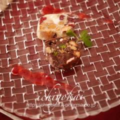 【2017年1月】チョコレートサラミ 盛り付け後
