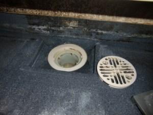 お風呂の排水溝が酷い汚れ