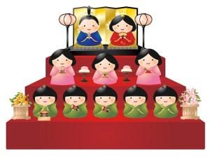 雛人形は何歳まで飾るものなんでしょうか