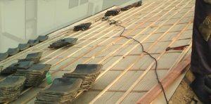 屋根瓦の再利用