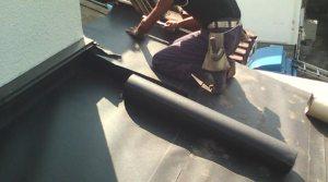 アスファルト系防水シート