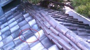 瓦のずれ・屋根の崩れ