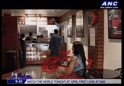 coffee shop in Manila
