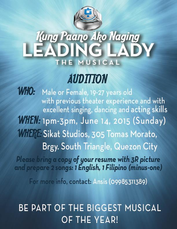 Philippine Auditions 13 June 2015 - iChill Theater Cafe