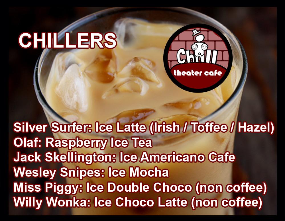 chillers-menu