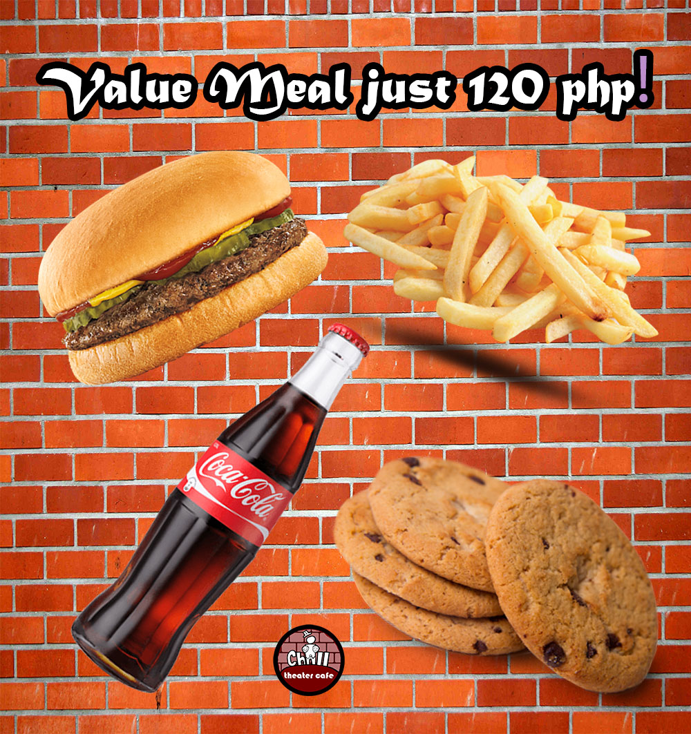 value meal iChill theater cafe