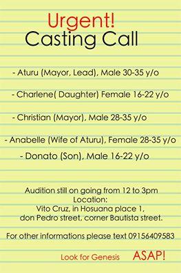 Philippine Auditions 13 November 2015