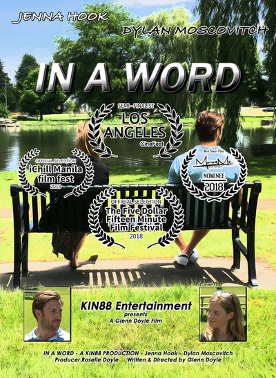 In a Word film Winner for best Script at iChill Manila Int Film Fest!