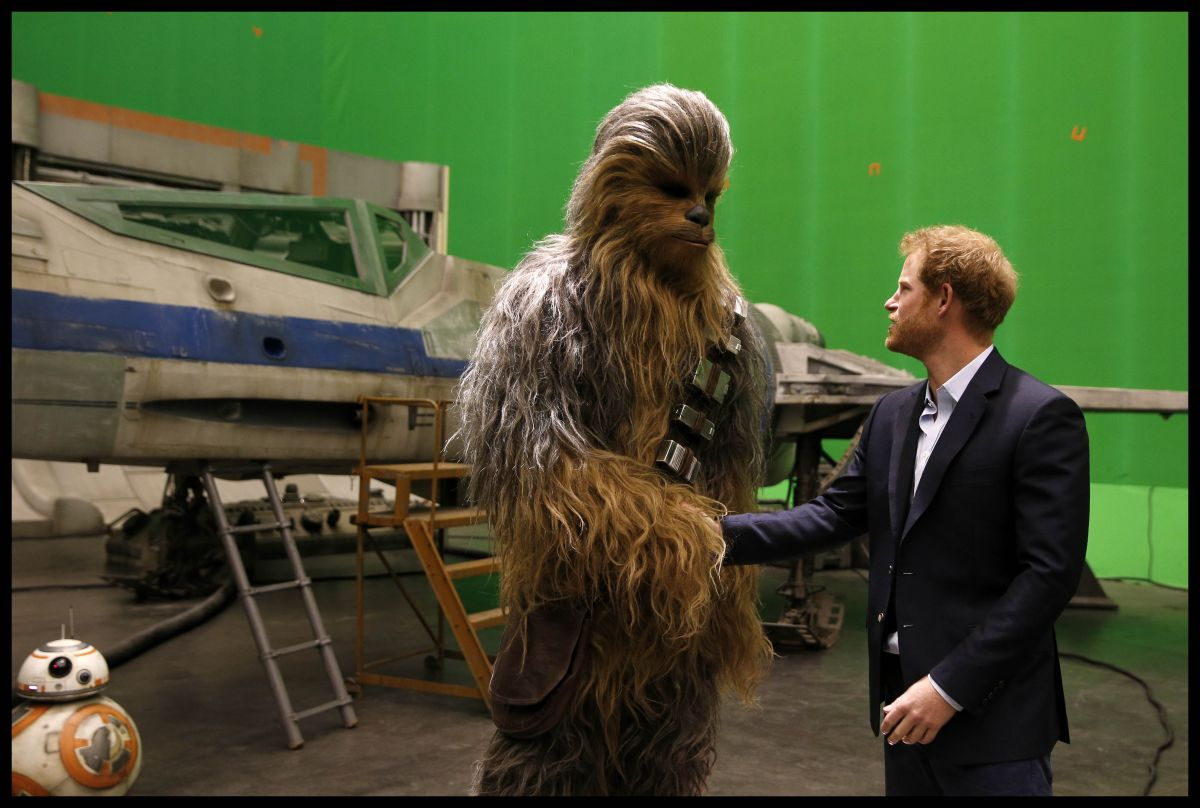 "Secrets of the filming ""Star Wars"""