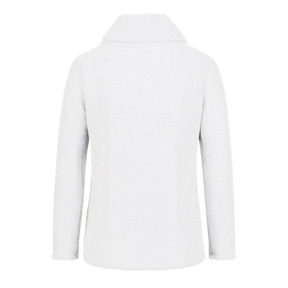 Stylish Bar Women Knitted Pullover Sweater Long Sleeve Turtleneck Solid Girl Pullovers Blouse Shirt Jumper Winter Women Clothing Clothing Women's Clothing